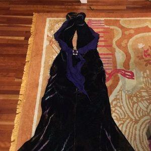 Vintage Roberto cavalli formal dress 40